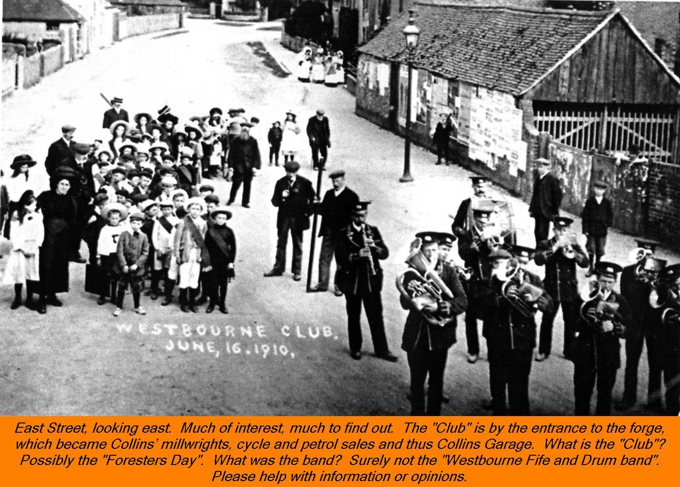 Westbourne-Club 1910
