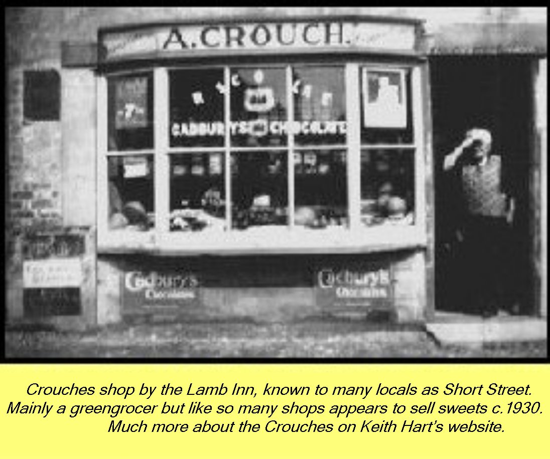 WESTBOURNE HISTORY PHOTO, CROUCH, GROCER, LAMB INN, SHORT STREET