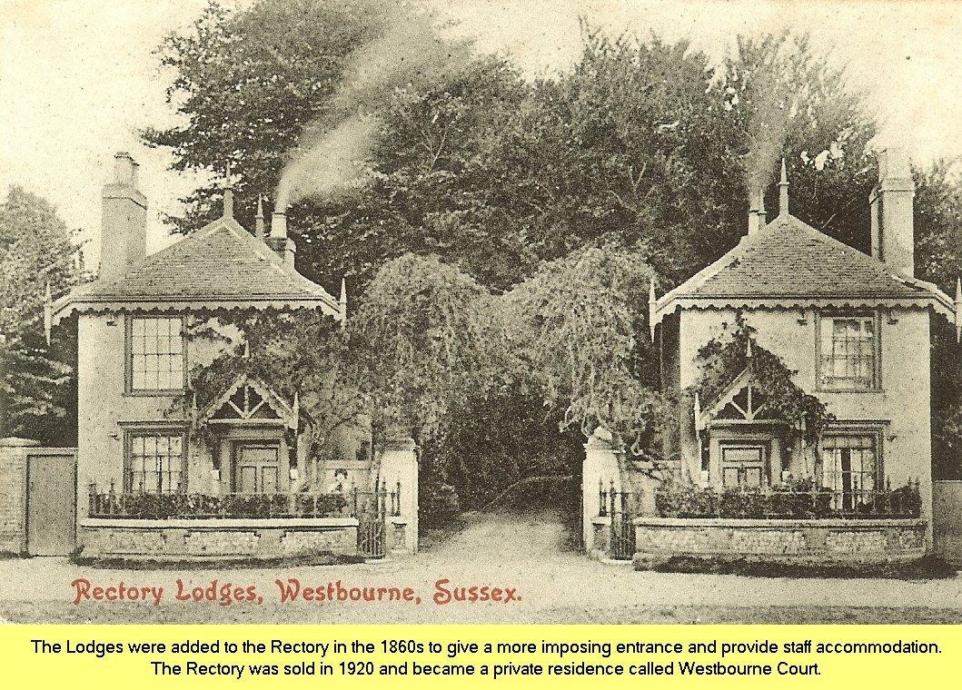 Lodge-houses-postcard