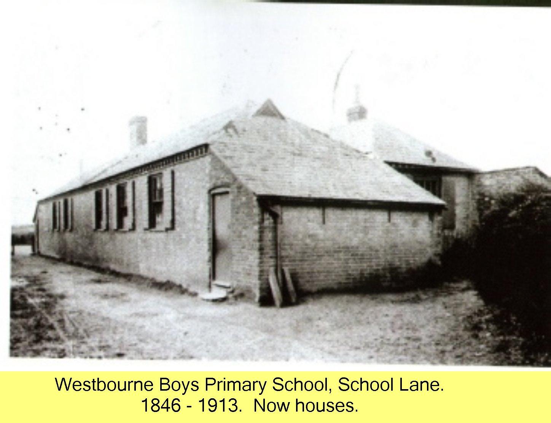 Westbourne Primary School - 1846 - 1913 }