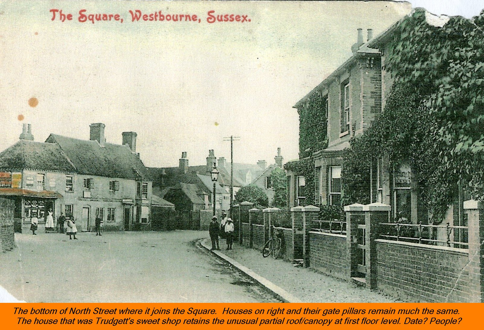 WESTBOURNE HISTORY PHOTO, SQUARE, NORTH STREET, TRUDGETT, SWEET SHOP