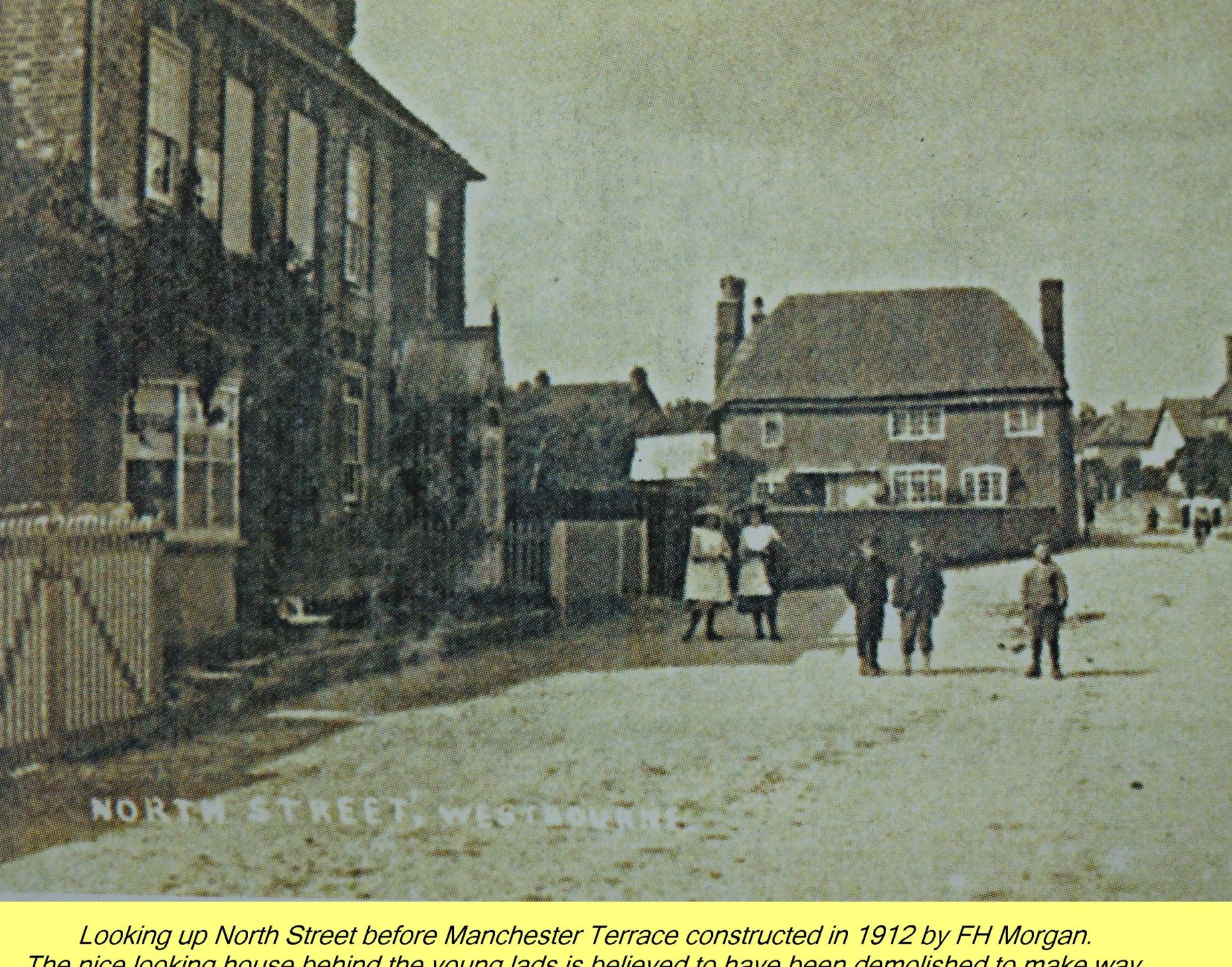 WESTBOURNE HISTORY PHOTO, NORTH STREET, MANCHESTER, TERRACE, GOOD INTENT,