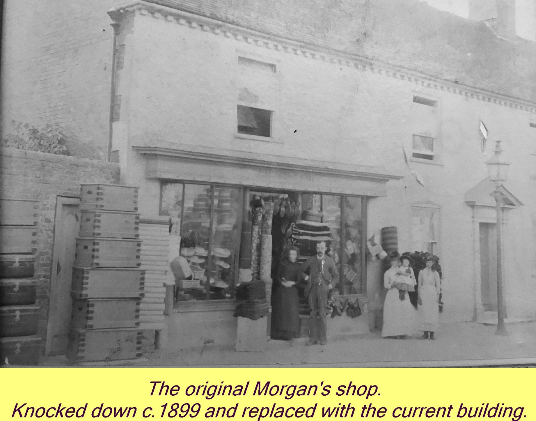 WESTBOURNE HISTORY PHOTO, MORGAN, SHOP, ORIGINAL
