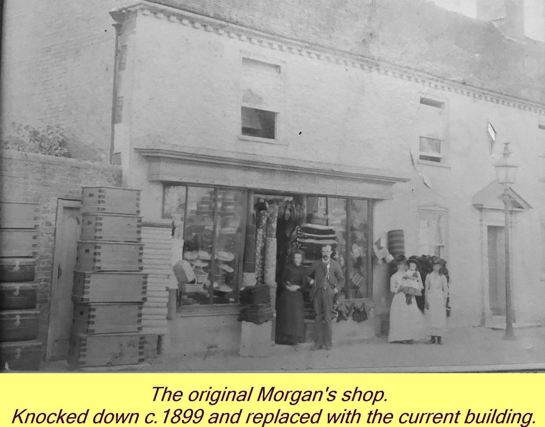 WESTBOURNE HISTORY PHOTO, MORGAN, SHOP, ORIGINAL