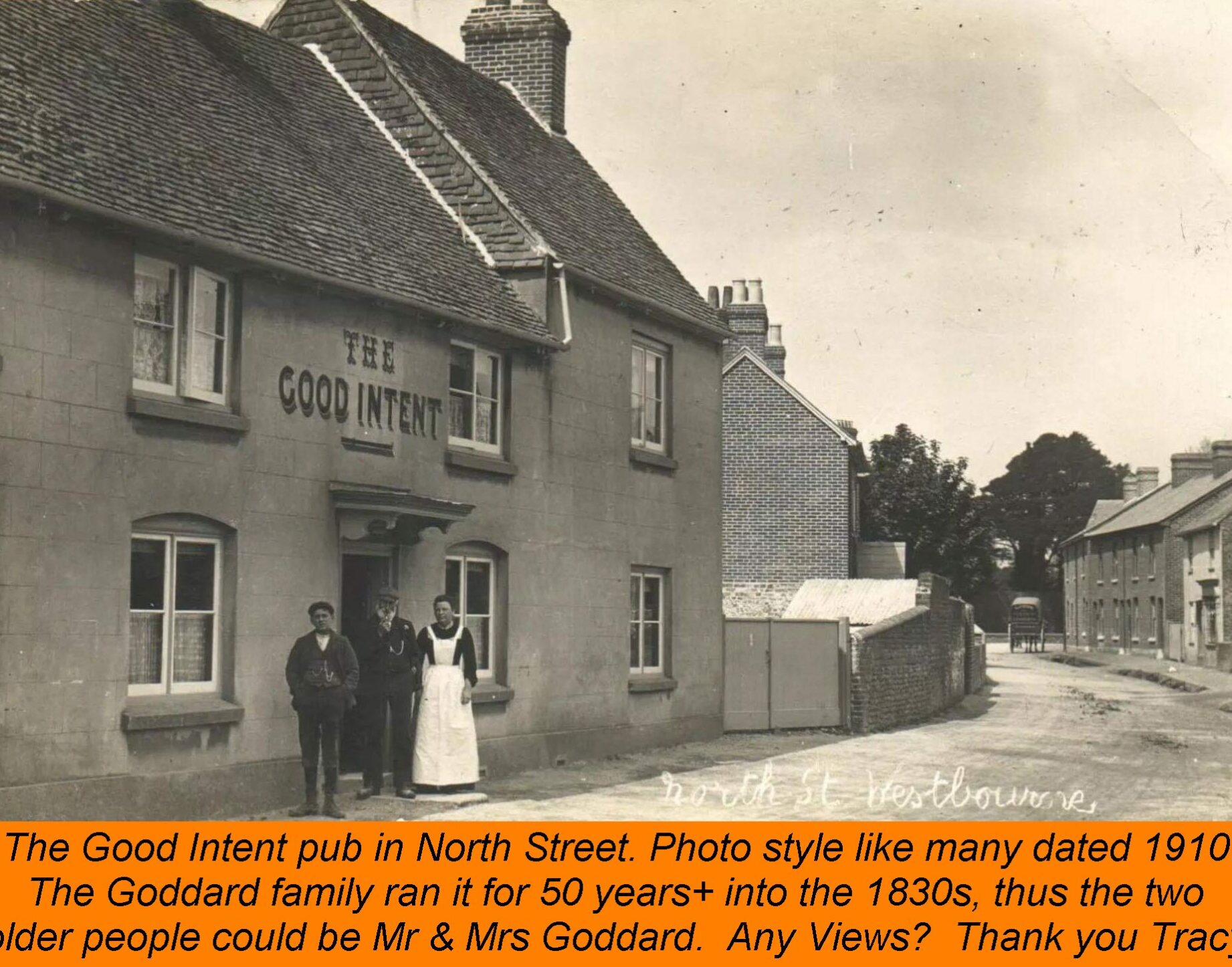 WESTBOURNE HISTORY PHOTO, GOOD INTENT GODDARD