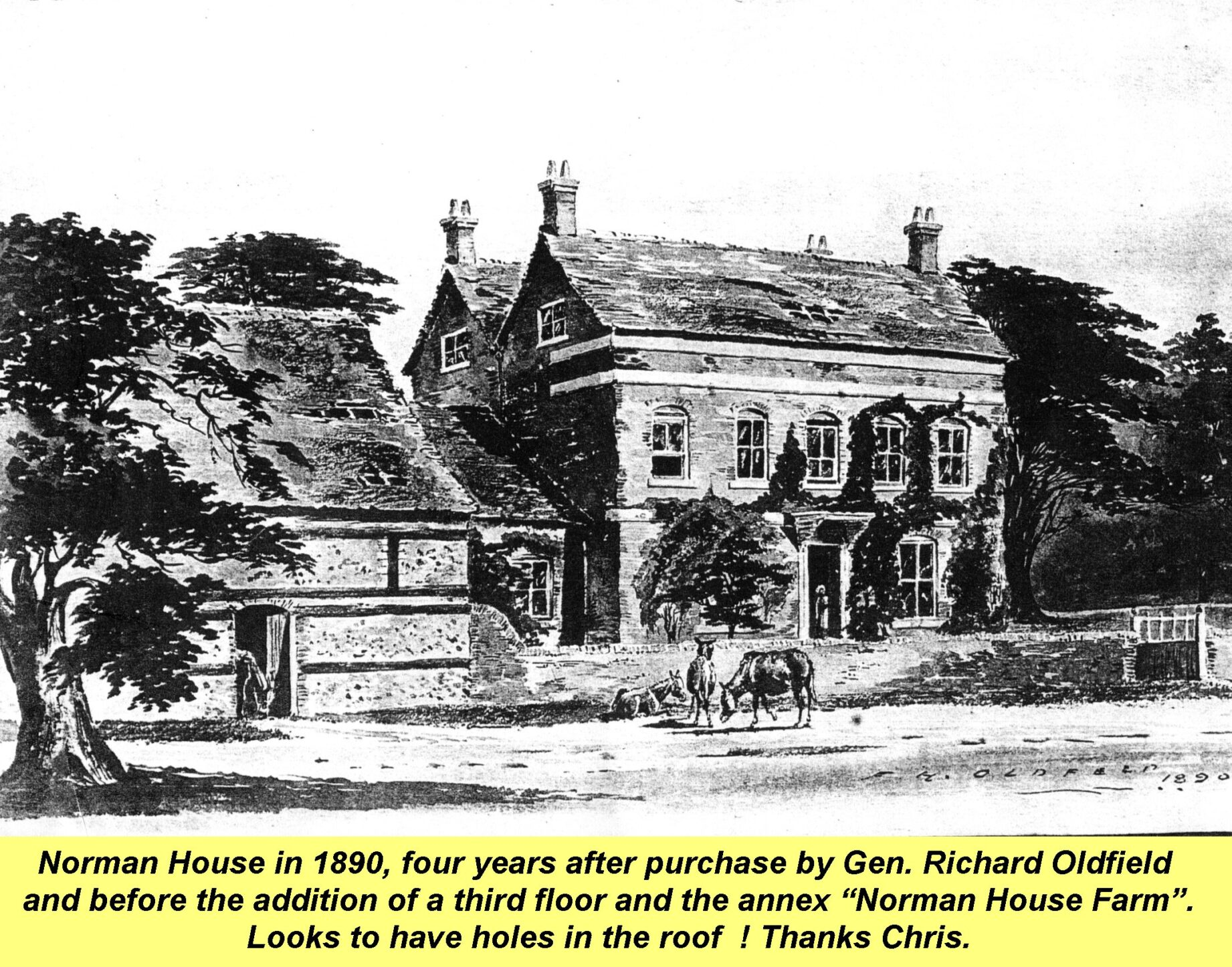 Westbourne Norman House 1890, Norman House 1890, Oldfield