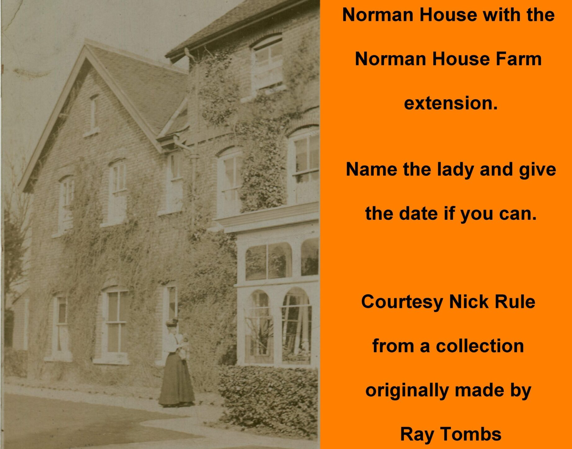 Westbourne history photo, Norman House