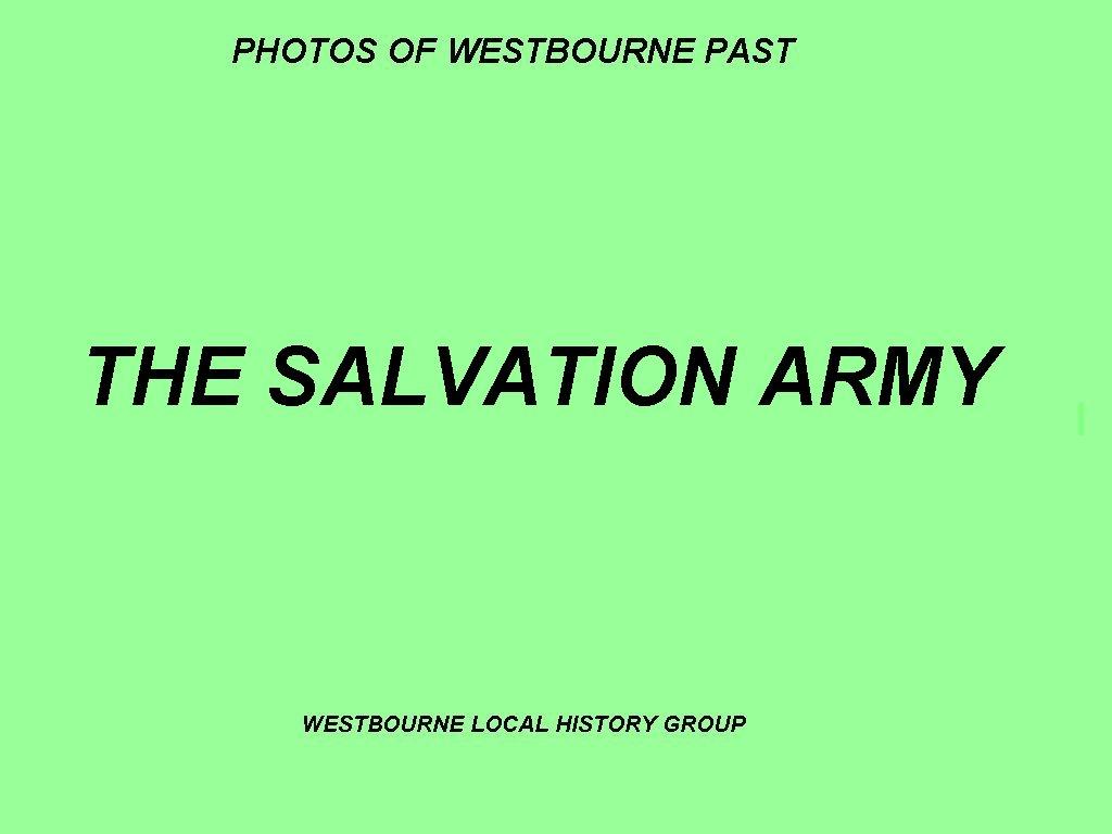 8 -Sally Army