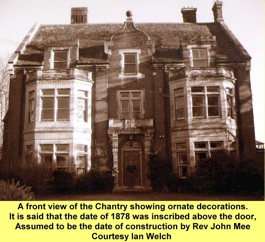 WESTBOURNE HISTORY PHOTO, THE CHANTRY FARM FRONT VIEW