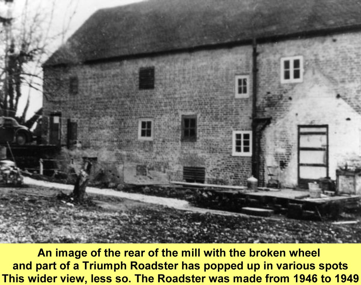 WESTBOURNE HISTORY PHOTO, WESTBOURNE MILL, REAR VIEW