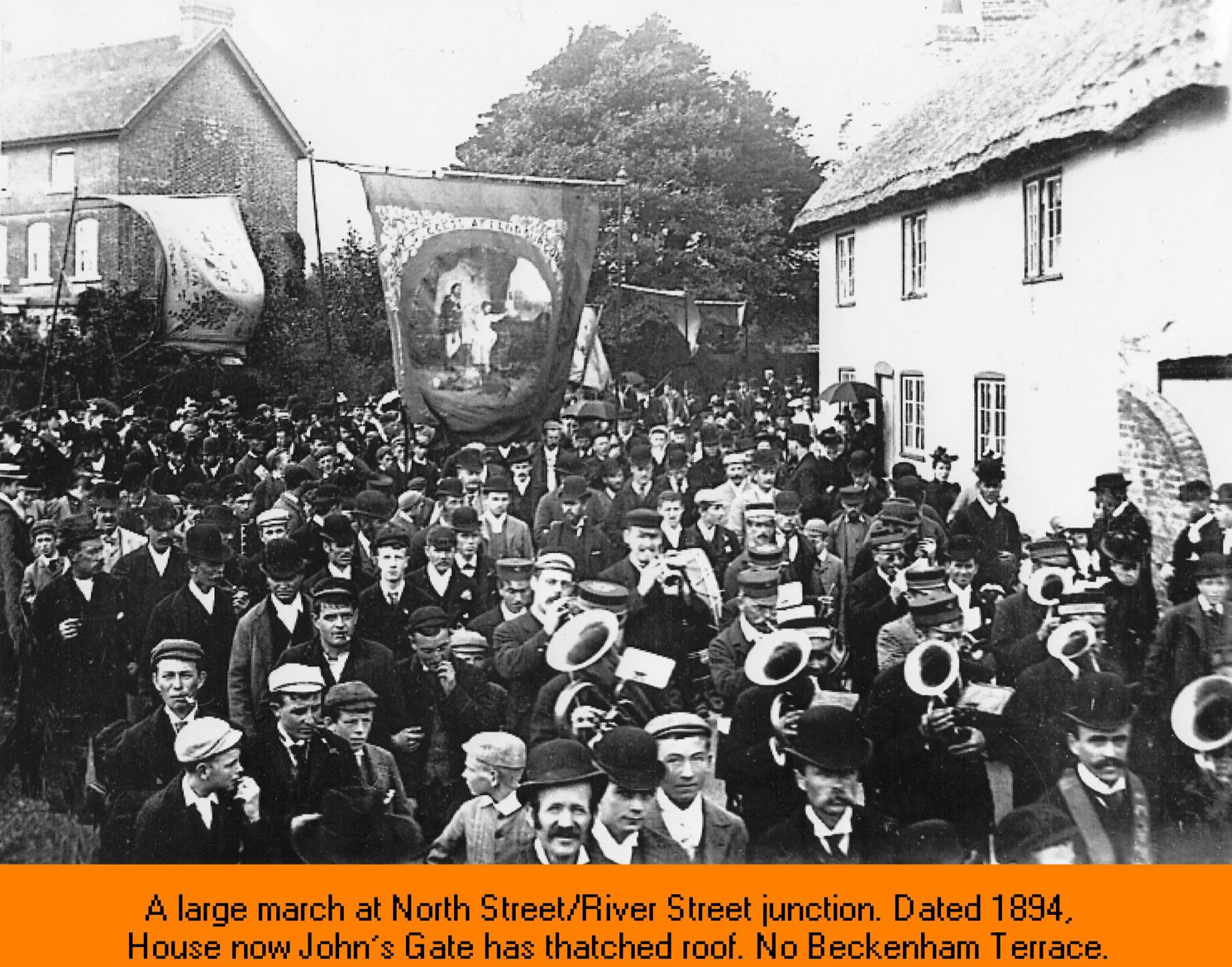 WESTBOURNE HISTORY PHOTO, CARNIVAL, FETE, MARCH, PARADE